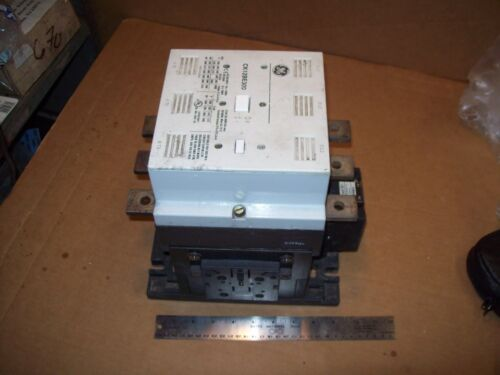 GE GENERAL ELECTRIC CK12BE-300D 810A 200HP@200V 500HP@460V 3 POLE CONTACTOR N901
