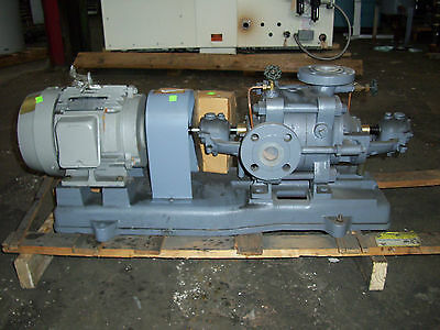 Ebara Turbine Pump Unused 65 M Head 213 Ft Head 5 Hp Flange Mount Boiler