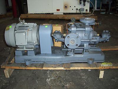 Ebara Turbine Pump Unused 65 M Head 213 Ft Head 5 Hp Flange Mount Boiler