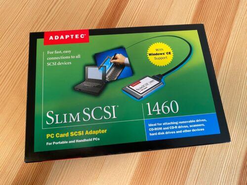 Adaptec Slim SCSI 1460 D PC Card PCMCIA Adapter