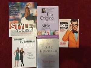 Lot Of 5 Style Books