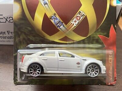 HOT WHEELS VHTF HOLIDAY CADILLAC CTS-V