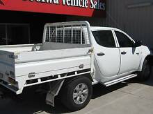 2011 Mitsubishi Triton Ute 4X4 MANUAL Goolwa Alexandrina Area Preview