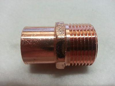 1 Copper Street Male Adapter Ma Sweat Solder Pressure Fitting New