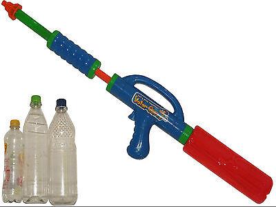 2x Wassergewehr PET Wasserpistole Spritzpistole Sommer Pool Fun Planschbecken