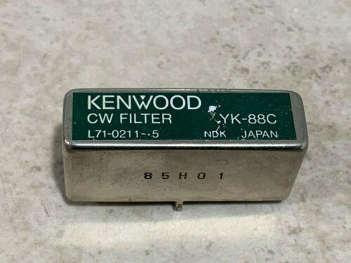 Kenwood YK-88C 500 Hz CW Filter Working Pull
