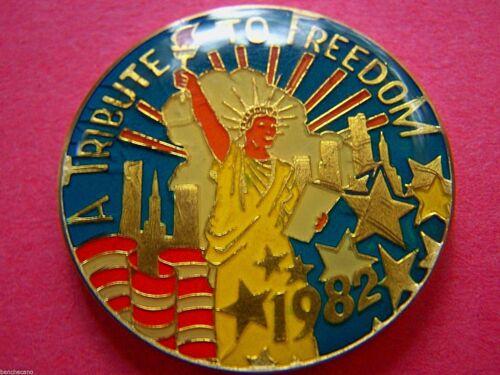 1982 Shangri-La A TRIBUTE TO FREEDOM Multi-Color Mardi Gras Doubloon