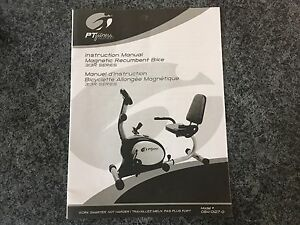 Bicyclette Allongée Magnétique / Magnetic Recumbent Bike