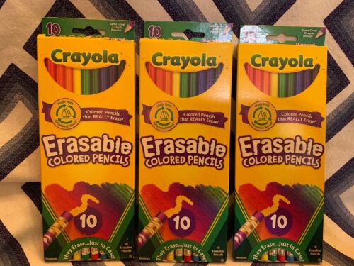 Crayola 10 Count Erasable Colored Pencils