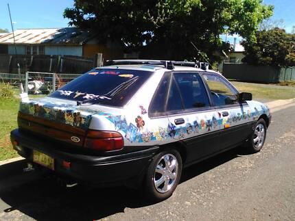 1990 Ford Laser Hatchback