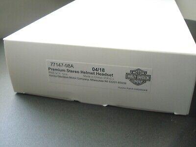 Harley Davidson 77147-98A Premium Stereo Helmet Headset