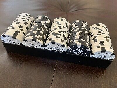 Jack Daniels Poker Chips x 100 - includes playing cards