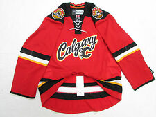 CALGARY FLAMES AUTHENTIC THIRD REEBOK EDGE 2.0 7287 HOCKEY JERSEY SIZE 54