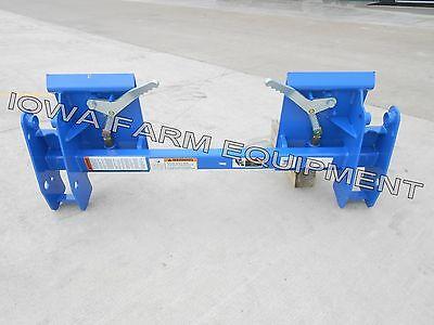Fordnew Holland Pin-on Loader Skid Steer Qa Adapter 620tl7109720972107309