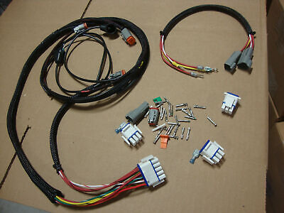 NEW OEM 2001 BIG DOG MOTORCYCLES MAIN WIRING HARNESS W/SUB HARNESS & CONNECTORS
