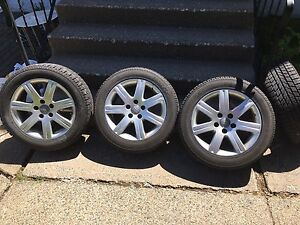 4 Audi Alloy  Rims  with Brand New winter tires!!!