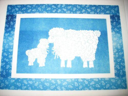 * TRI CHEM 8087 A LAMBS LT BLUE Picture to Paint TRICHEM