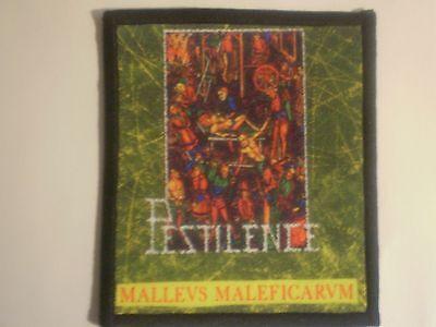 Pestilence - Malleus Maleficarum Sublimated Patch KREATOR DARK ANGEL ENTOMBED