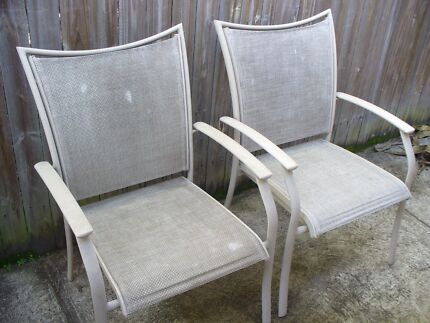 OUTDOOR CHAIRS X 2 Coombabah Gold Coast North Preview