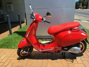VESPA PRIMAVERA 150 (RED) LE EDITION Fulham West Torrens Area Preview