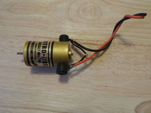 ASTRO 035 Cobalt Motor - Brushed
