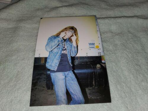 VINTAGE METALLICA PHOTO OF CLIFF BURTON TAKEN BY ME EARLY 1980s SAN DIEGO CALIF