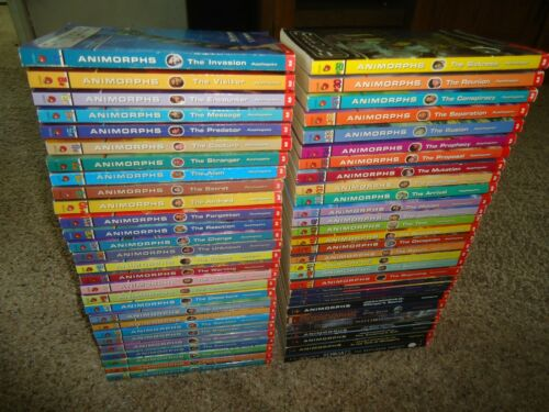 Lot 57 Animorphs Books K.A. Applegate Megamorphs Chronicles Alternamorphs Remnan