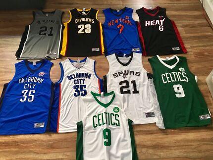 NBA Basketball Jerseys Size S