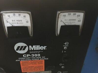Miller Cp-300 Constant Voltage Dc Arc Welding Power Source Sn Jh300036