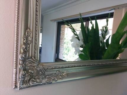 LArge modern ornate mirror