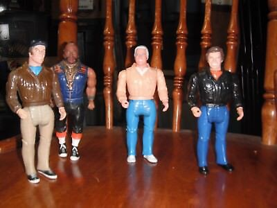 A-Team 1983 Galoob B.A. Hannibal Face Murdock Vintage Lot of 6 Figures & More...