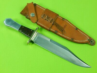 US Custom Handmade Rudy Ruana 32B Davy Crockett Bowie Knife Gator Horse Handle