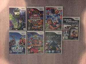 Lot of Wii games. (7)