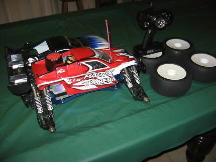CEN Nemesis 7.7 RTR 1/8 Scale 4 Wheel Drive Nitro Monster Truck Park Ridge Logan Area Preview