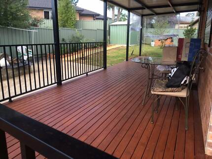 budget decking and glass pool fencing