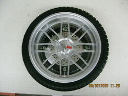Sterling & Noble Wheel/Tire Wall Clock Ideal for Garage, Man Cave Car Guy