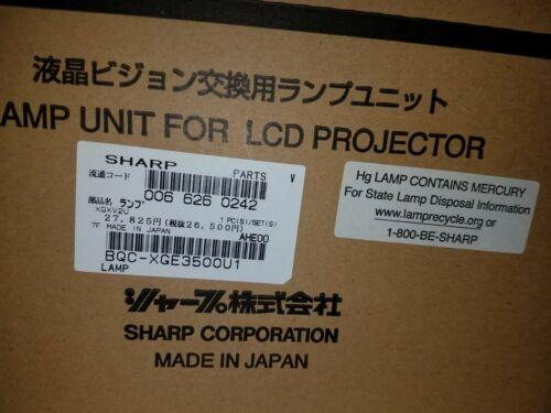 Sharp BQC-XGE3500U1 Lamp