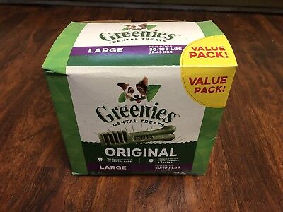 GREENIES Original Large Dog Dental Chews For Gumline - 36 Ounces 24 Daily Treats