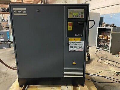 Atlas Copco Ga 18 Rotary Screw Air Compressor