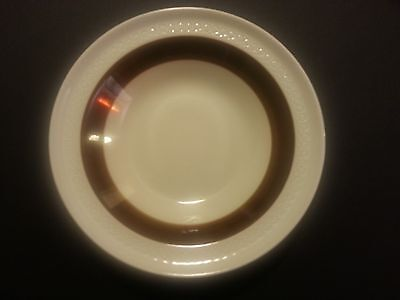 Rorstrand Sweden Forma P555 Bowl Mid Century Brown Ivory