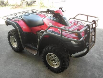 Honda TRX680 quad bike with bull bar, side rails & bash plate Bungalow Cairns City Preview
