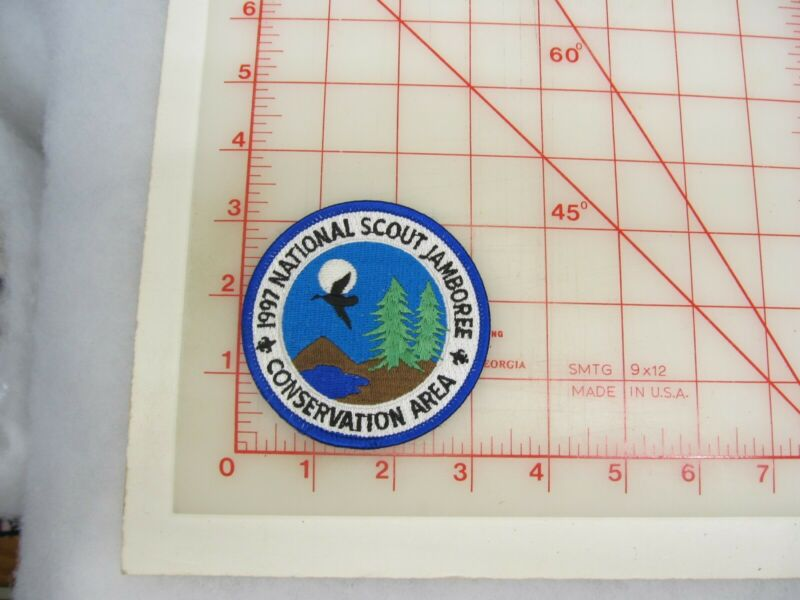 1997 Jamboree collectible Conservation Area patch (o47)