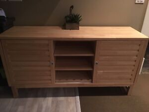 Birch Hutch/TV cabinet