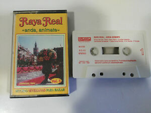 RAYA-REAL-ANDA-ANIMATE-CINTA-TAPE-CASSETTE-PASARELA-1995-SPANISH-EDITION