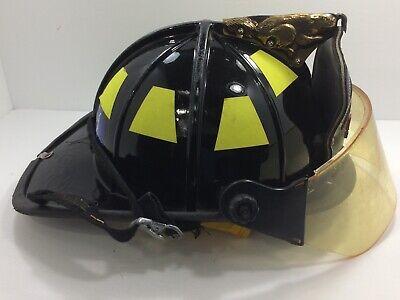 3M Reflective Fire Helmet Single Tetrahedrons HAZ MAT Technician Tet