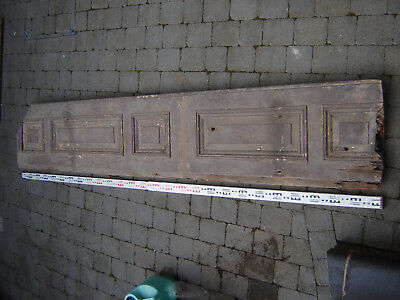 Large Antique Wood Door - 2.7m x 0.5m x 70mm