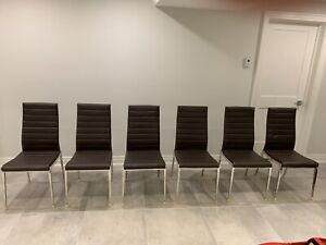 6 Dining Room Chairs - $275 or best offer