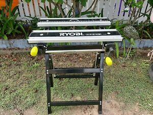 RYOBI Adjustable Metal working Bench good condition