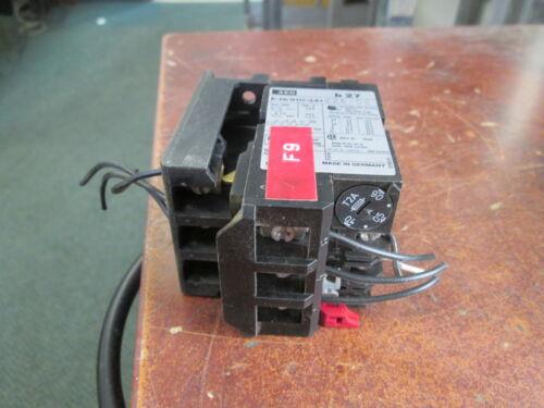 AEG  B 27 Solid State Overload E-Nr910-341-224-00 Range: 0.4-0.6A Used