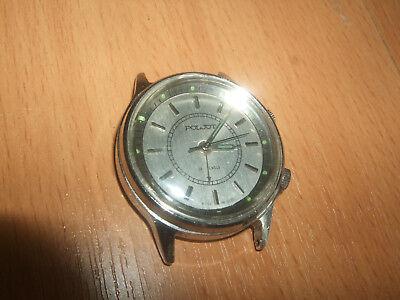 Rare vintage USSR watch FLYING alarm POLJET часы ПОЛЕТ СССР VIBRO BUZZING